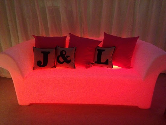 LED Chesterfield Sofa