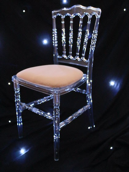 Black Ghost Chair Hire Napoleon Ghost Chair Our Napoleon Ice Chairs Are Also Available With
