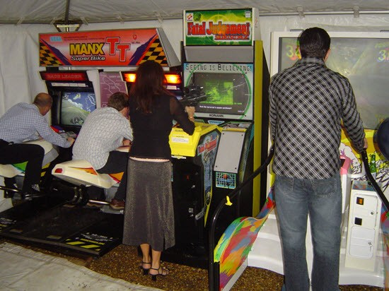 Arcade Game Hire