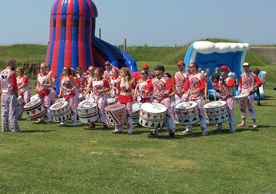 Corporate Fun Day in Hampshire