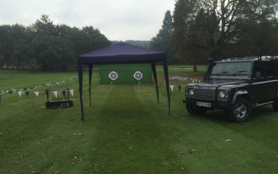 Archery Event at Pennyhill Park Surrey