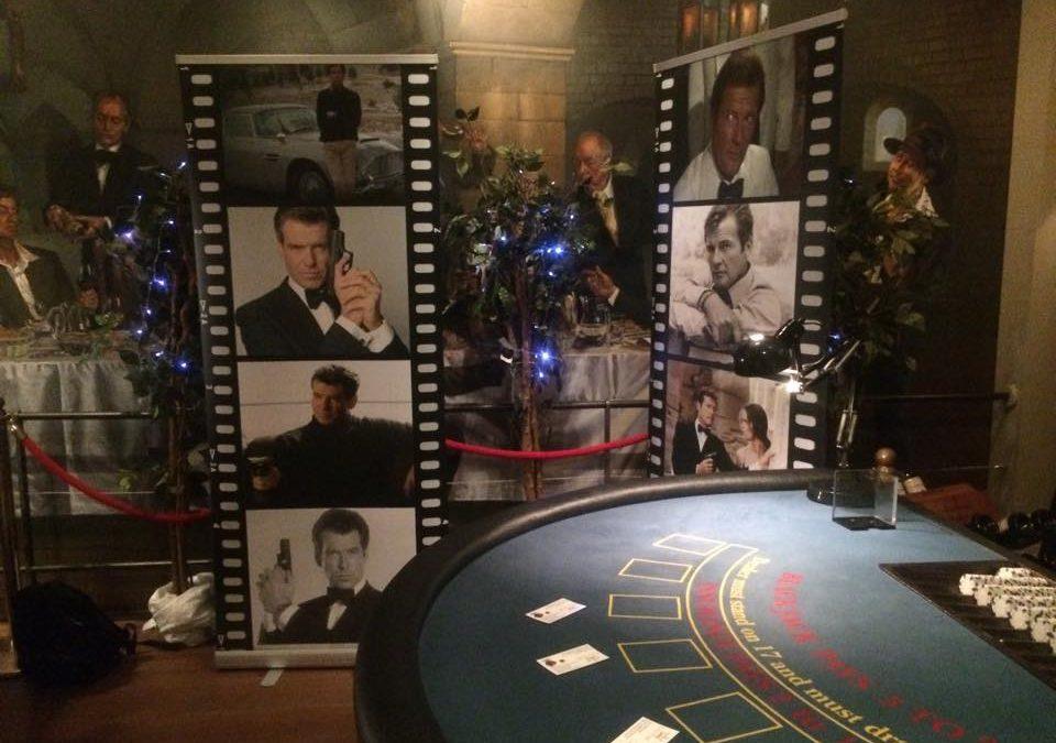 James Bond Casino Evening-The Vineyard in Stockcross, Hampshire