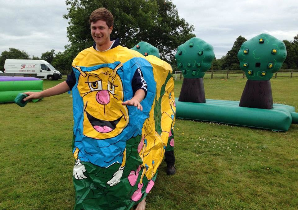 """It's a Knockout"" Corporate Event – Horsley Towers, Surrey"