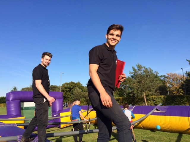 Human Table Football Hire in Hampshire